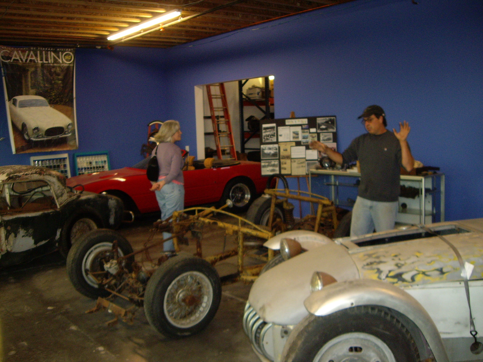 Parts Trip to Tom Shaughnessy\'s
