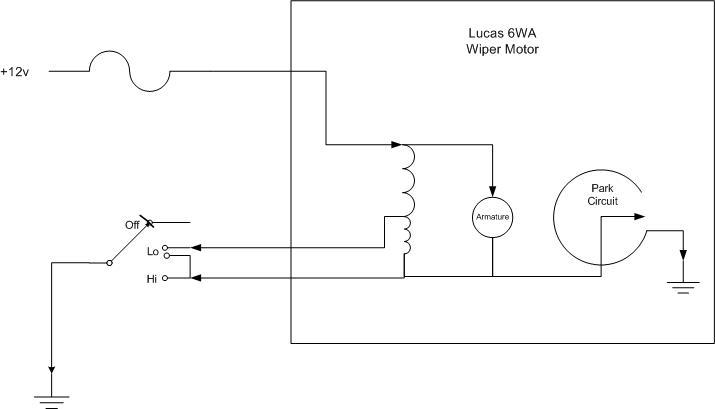 Wiper Motor Circuit Diagram